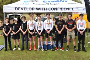 Junior athletes medalling at state championships